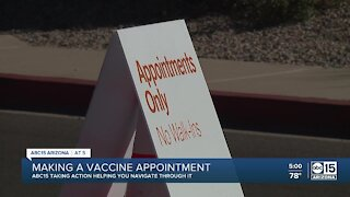 How to make a vaccine appointment in Arizona
