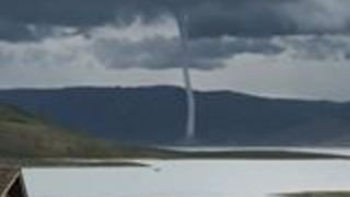 Tornado Spotted From Campground Near Utah's Strawberry Reservoir - Video