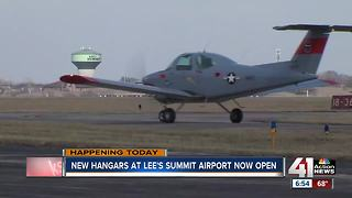 Lee's Summit airport unveils new hangars - Video