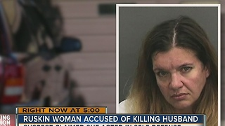Hillsborough Co. man found dead on Christmas Eve, wife arrested for murder - Video