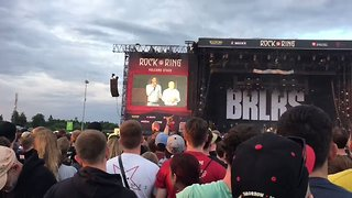 Rock am Ring Festival Organizers Announce Evacuation Due to Security Threat - Video