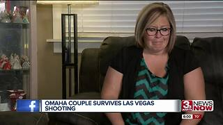 Omaha couple survives Las Vegas shooting - Video