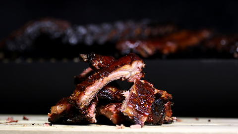 Whiskey cola glazed ribs recipe
