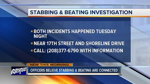 Boise Police investigating stabbing and battery