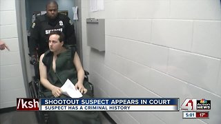 Fairway shooting suspect appears in court