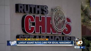 Lawsuit against Ruth's Chris for sexual harassment