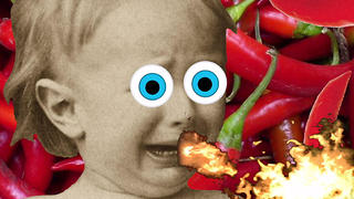 PRANK - Baby eats hot chili sauce prank - Video