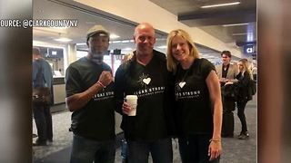 Vegas Strong runners leave for Boston Marathon - Video