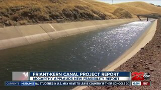 Congress receives report on Friant-Kern Canal repairs