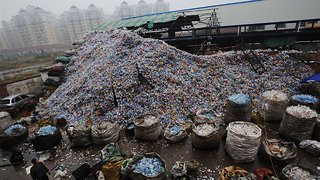 China's Refusal To Take In US Trash Is Creating A Garbage Problem - Video