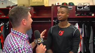 1-on-1 with Orioles shortstop Tim Beckham - Video