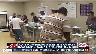 Rosamond seeing rising number of pot shops, county deciding regulations - Video