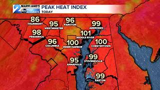 Another Hot & Humid Day Ahead