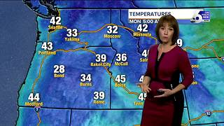 Wind will be whipping Monday as temperatures drop across SW Idaho - Video