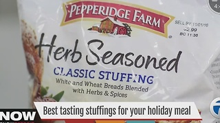 Consumer Reports: Best Tasting Stuffings