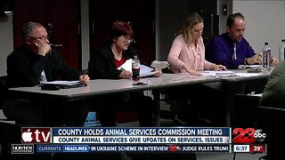 Kern County holds animal services commission meeting