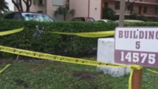 10-foot hole opens at apartment complex - Video