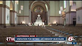 Visitation begins for retired Archbishop Daniel Buechlein - Video
