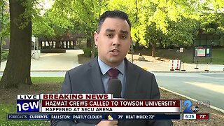 Towson graduation ceremony interrupted by hazmat situation