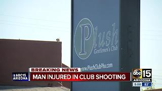 Man critically hurt after being shot inside Phoenix gentleman's club - Video
