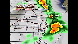 Another round of showers & thunderstorms - Video