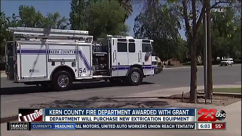 Kern County Fire Department Awarded with Grant