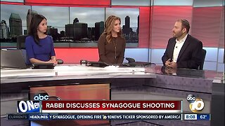 Local San Diego rabbi discusses synagogue shooting