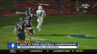 Undefeated Brookfield Central after first football state championship - Video