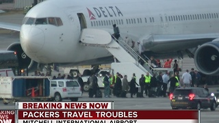 Packers travel troubles - Video