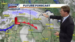 Cooler temperatures through the rest of the day - Video