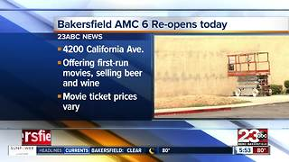 Bakersfield AMC 6 to reopen Friday - Video
