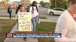HCPS teachers say they won't work past 8 hours - Video