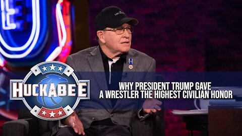 Why President Trump Gave A Wrestler This INCREDIBLE Honor | Dan Gable | Jukebox | Huckabee