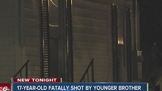 17-year-old fatally shot by younger brother - Video