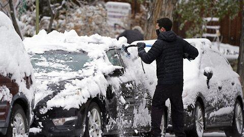 Millions Under Winter Weather Alerts As Snowy Storm Whips Through U.S.