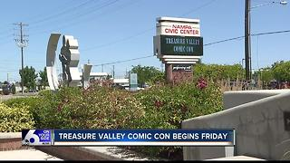 First-ever Treasure Valley Comic Con in Nampa - Video