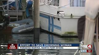 Woman Drowns at Paradise Marina - Video