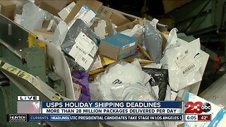 More than 28 million packages delivered per day this week