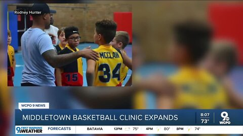 Middletown basketball clinic expands