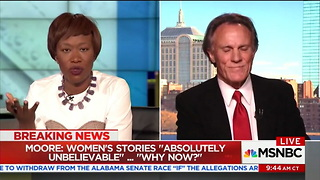 MSNBC Guest Goes Off On Evangelical Christians -- And Makes Absolutely Outrageous Accusation - Video
