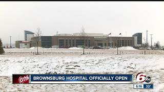 Brownsburg opens new hospital - Video
