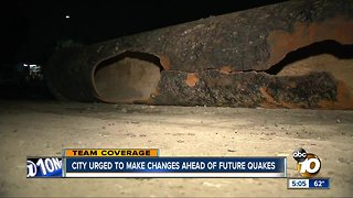 San Diego urged to make changes ahead of future quakes - Video