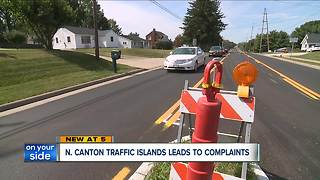 North Canton to remove traffic island after community backlash - Video