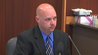 K.C. Stout takes the stand during the Mark Sievers trial