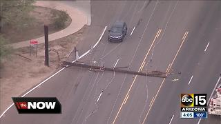 Utility companies working to restore power in Scottsdale following Monsoon storm - Video
