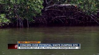 Concern over potential waste dumping site