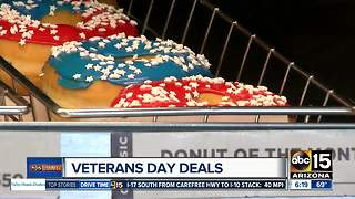 Veterans Day deals around the Valley - Video