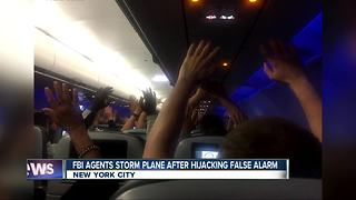 FBI storms plane at NY airport after false alarm