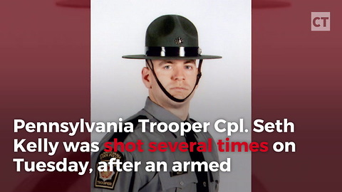 State Trooper Saves His Own Life