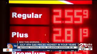 Gas prices for holiday weekend - Video